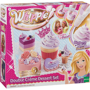 Whipple Double Creme Dessert Set Blueberry and Vanilla