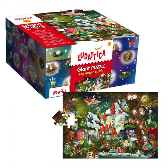 Lisciani Ludattica Giant Puzzle The Magic Castle 48pcs