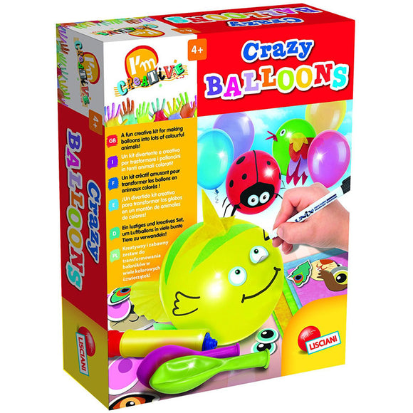 Lisciani I'm Creative Crazy Balloons Craft Kit