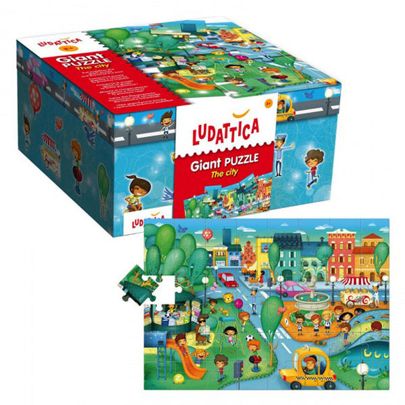 Lisciani Ludattica Giant Puzzle The City 48pcs