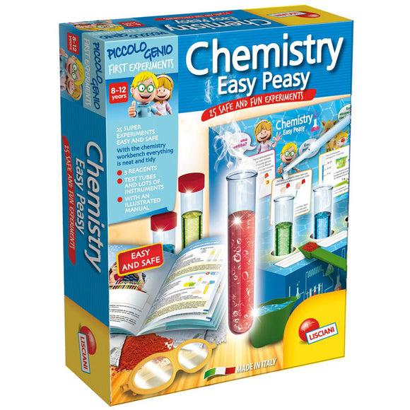 Lisciani Science Piccolo Genio Super Easy Chemistry