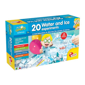 Lisciani Science I'm A Genius 20 water and ice experiments