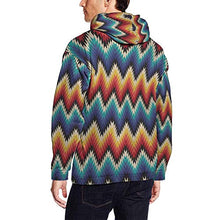 Load image into Gallery viewer, Men's Long Sleeve Aztec Hoodie