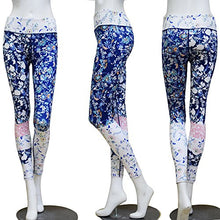 Load image into Gallery viewer, Floral Print Yoga Two Piece Set