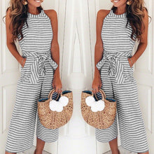 Load image into Gallery viewer, Jumpsuit Striped - Modern Hippi