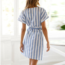 Load image into Gallery viewer, Lila Striped Dress - Modern Hippi
