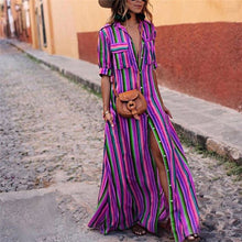 Load image into Gallery viewer, Bohemian Long Maxi Dress - Modern Hippi