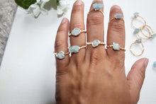 Load image into Gallery viewer, Aquamarine Ring - Modern Hippi