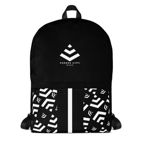 MH Logo Backpack Black - Modern Hippi