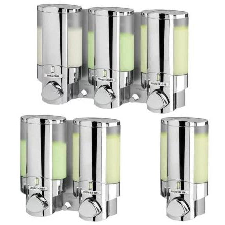 3, 2 or 1 Chamber Shower Dispenser