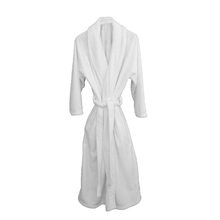 Load image into Gallery viewer, Cozy White Robe