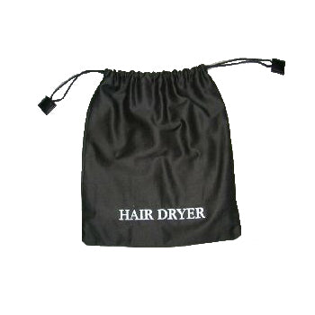 Black Hair Dryer Bag