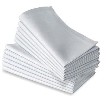 White Napkins (12 Pack)