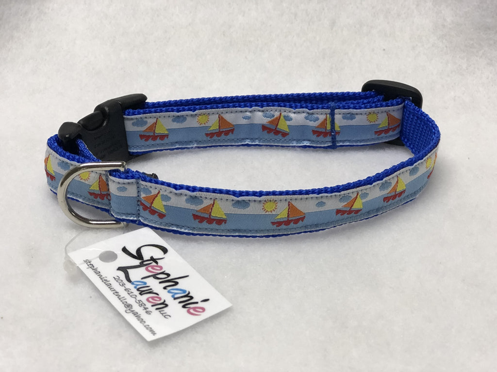 Seasonal Designer Dog Collars - Small