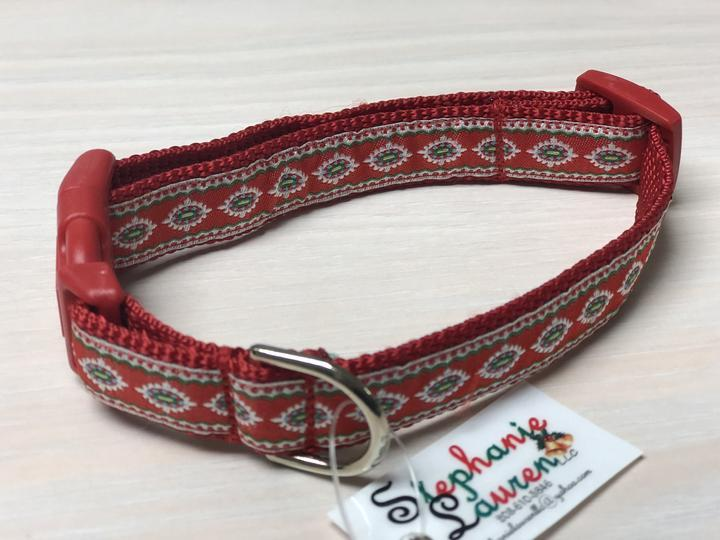Holiday Designer Dog Collars - Small