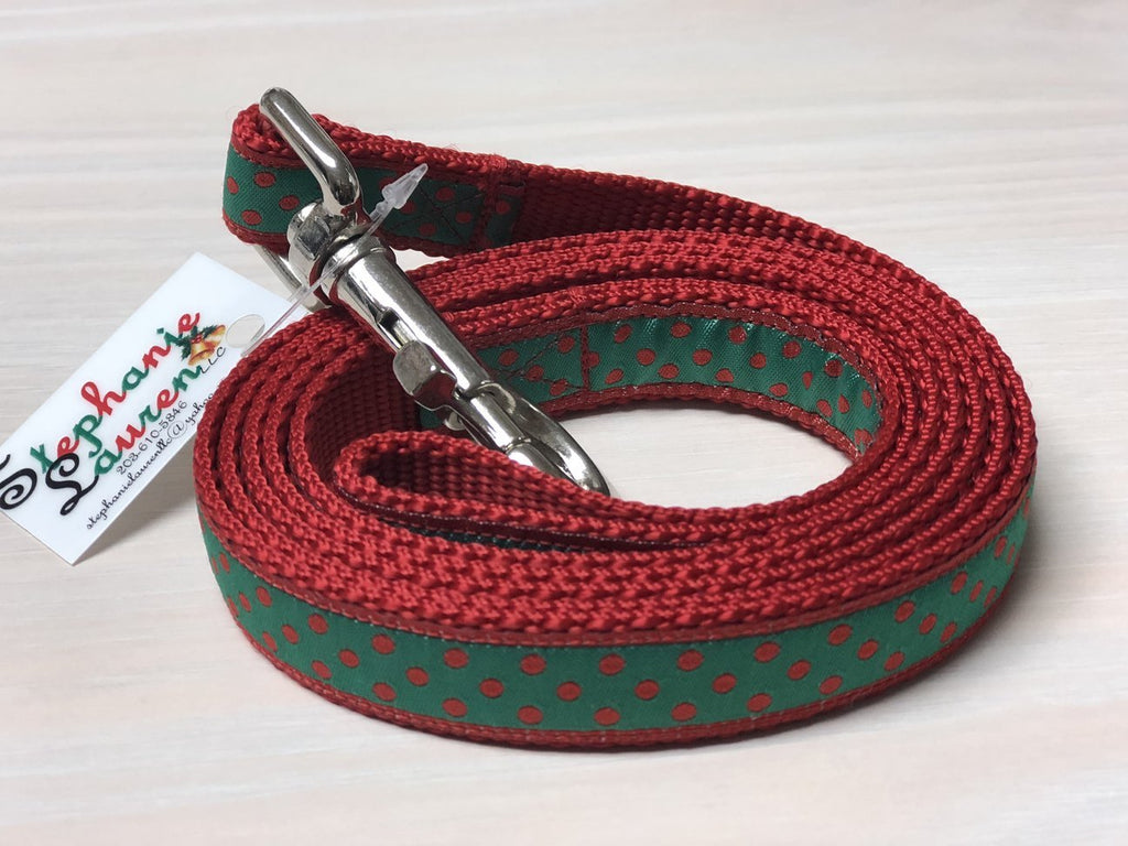 Holiday Designer Dog Leashes - Small