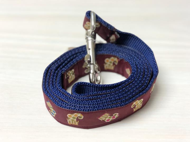 Holiday Designer Dog Leashes - Large