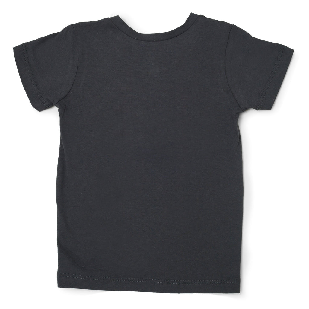 Me Do. Learn-to-Dress Grey Tee Shirt Back