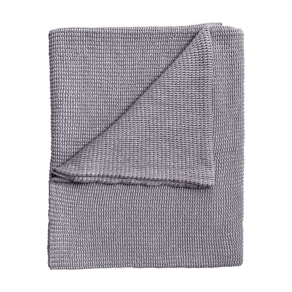 Nantucket Blanket - Cobblestone Gray