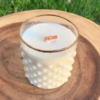 Bubble Glass Jar Candle By Olive My Skin