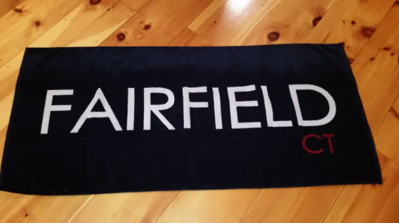 Jumbo Fairfield Beach Towel