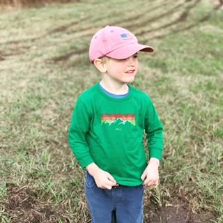 Green Mountain Long Sleeve T-Shirt
