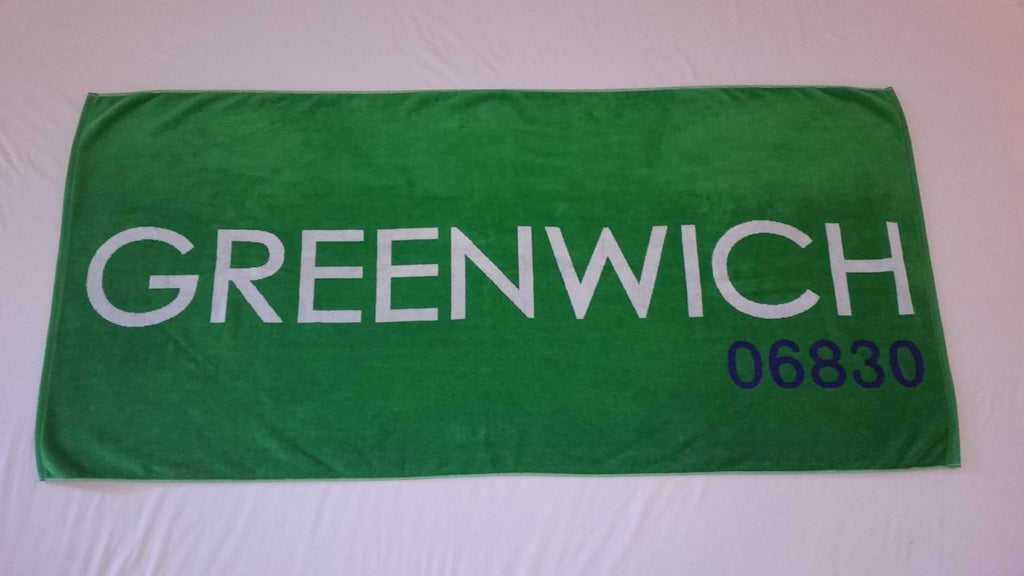 Jumbo Greenwich Beach Towel