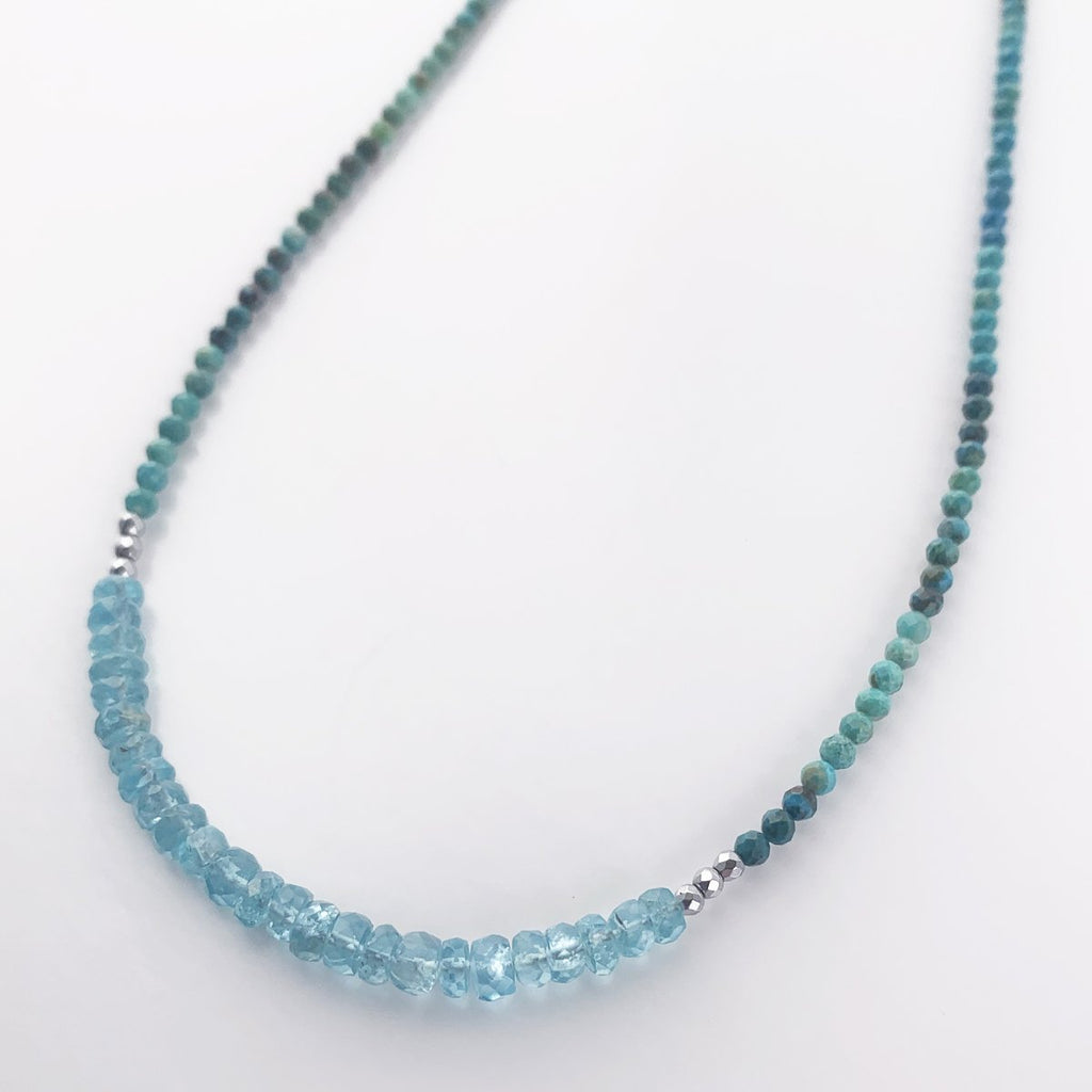 Apatite Iris Necklace