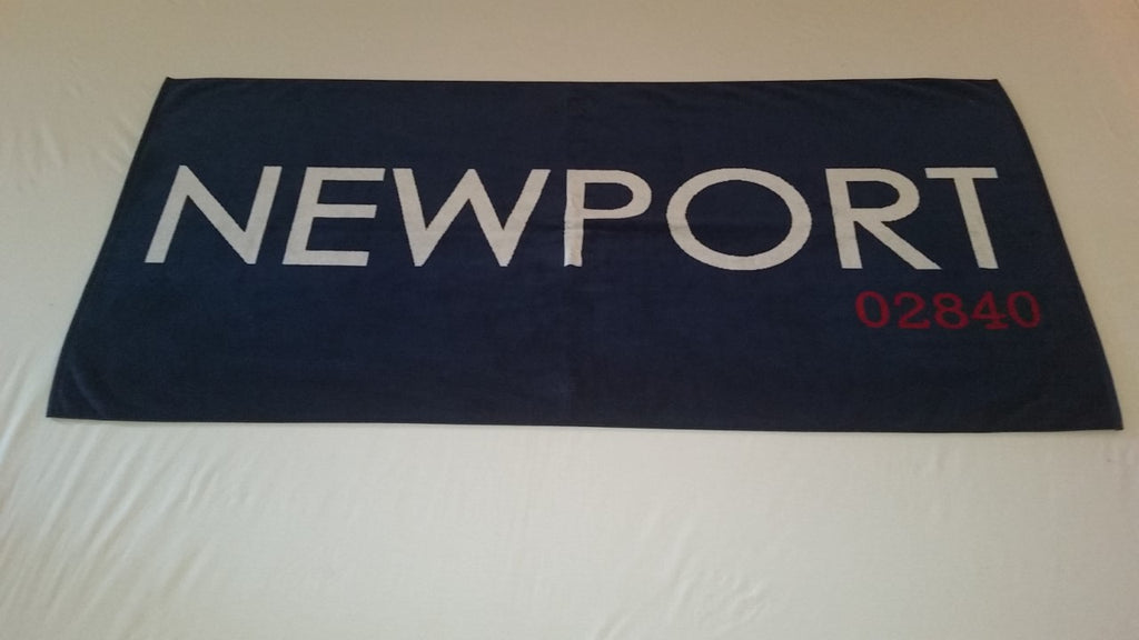 Jumbo Newport Beach Towel