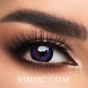Voioc® Eye Circle Lens Blue-Purple Hazel Colored Contact Lenses V6007 - Voioc.com