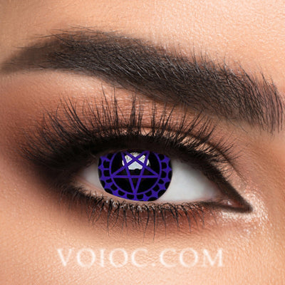Voioc® Eye Circle Lens Ciel's Hazel Contract Colored Contact Lenses V6008 - Voioc.com