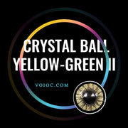 Voioc® Eye Circle Lens Crystal Ball Yellow-Green II Colored Contact Lenses V6018 - Voioc.com