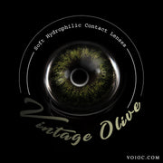 Voioc® Eye Circle Lens Vintage Olive Colored Contact Lenses V6030 - Voioc.com