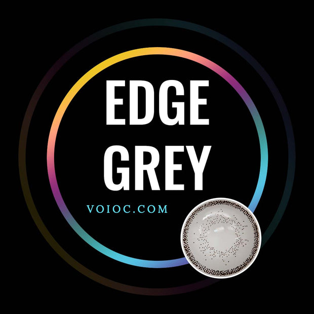 Voioc® Eye Circle Lens Edge Grey Colored Contact Lenses V6039 - Voioc.com