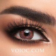 Voioc® Eye Circle Lens Floweriness Pink Colored Contact Lenses V6055 - Voioc.com