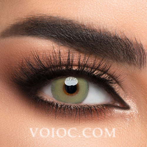 Voioc® Eye Circle Lens Gaea Brown Colored Contact Lenses V6057 - Voioc.com