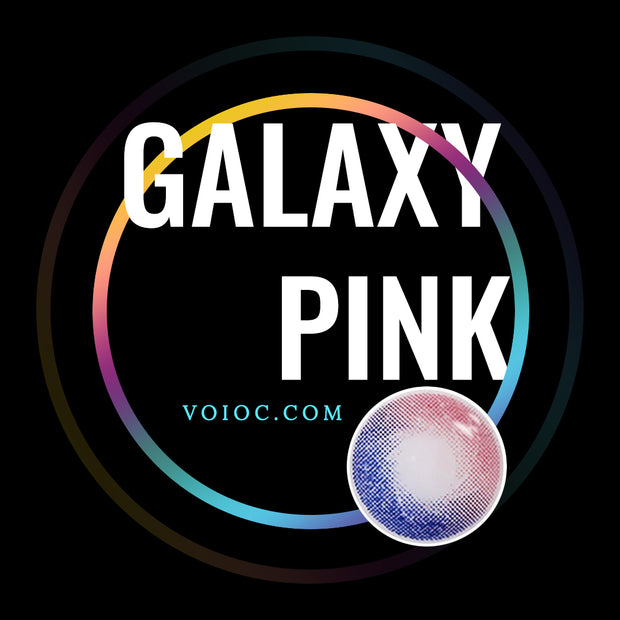 Voioc® Cheap Colored Contact Lenses Galaxy Pink Eye Circle Lenses V6061 - Voioc.com