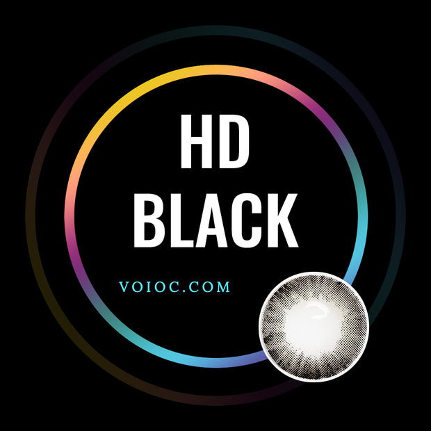 Voioc® Eye Circle Lens HD Black Colored Contact Lenses  V6069 - Voioc.com