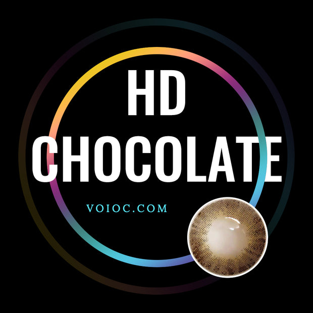 Voioc® Eye Circle Lens HD Chocolate Colored Contact Lenses V6071 - Voioc.com