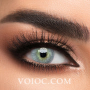 Voioc® Eye Circle Lens HD Green-Grey Colored Contact Lenses V6073 - Voioc.com