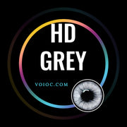 Voioc® Eye Circle Lens HD Grey Colored Contact Lenses V6074 - Voioc.com