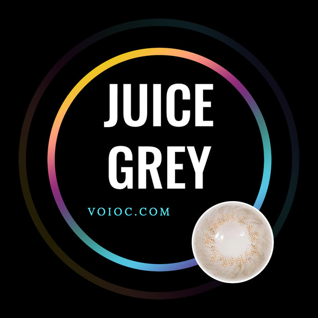 Voioc® Eye Circle Lens Juice Grey Toric Colored Contact Lenses V6077 - Voioc.com