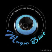 Voioc® Eye Circle Lens Magic Blue Colored Contact Lenses V6083 - Voioc.com