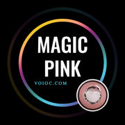 Voioc® Eye Circle Lens Magic Pink Colored Contact Lenses V6086 - Voioc.com