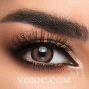 Voioc® Eye Circle Lens Moonlight Brown Colored Contact Lenses V6091 - Voioc.com