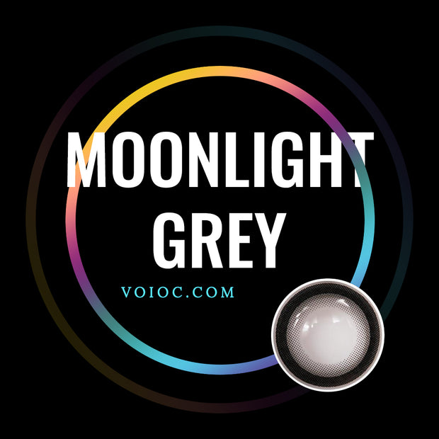 Voioc® Eye Circle Lens Moonlight Grey Cheap Colored Contact Lenses V6092 - Voioc.com