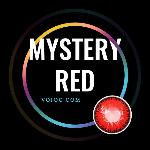 Voioc® Eye Circle Lens Mystery Red Naruto Colored Contact Lenses V6097 - Voioc.com