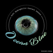 Voioc® Eye Circle Lens Ocean Blue Colored Contact Lenses V6099 - Voioc.com