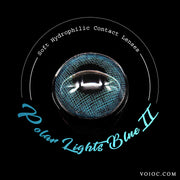 Voioc® Eye Circle Lens Polar Lights Blue II Colored Contact Lenses V6106 - Voioc.com