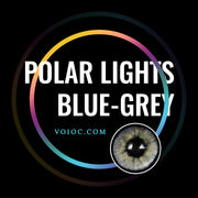 Voioc® Eye Circle Lens Polar Lights Blue-Grey Colored Contact Lenses V6107 - Voioc.com